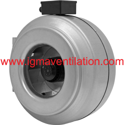 Igma ventilation for In line centrifugal bathroom fan