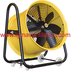Exceptionnel IGMA Heavy Duty Portable Axial Blower Fan